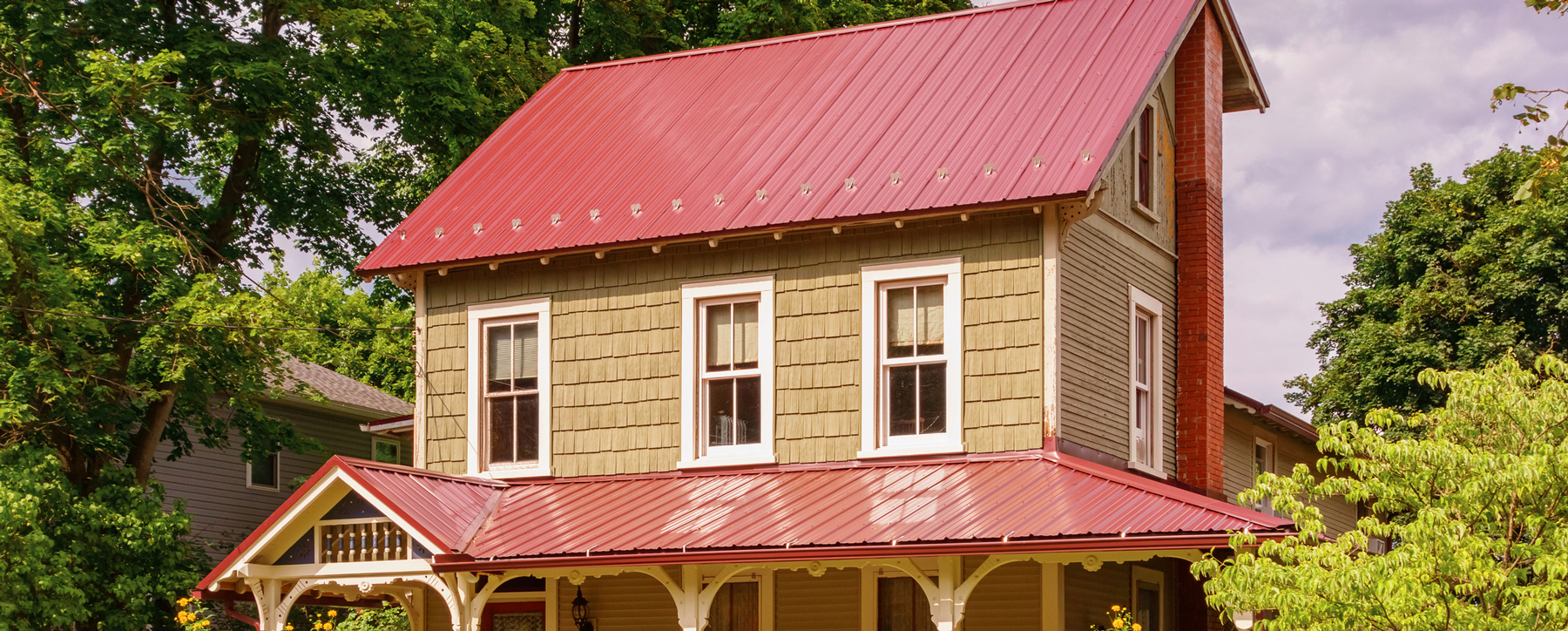 Metal Roofing-Residential